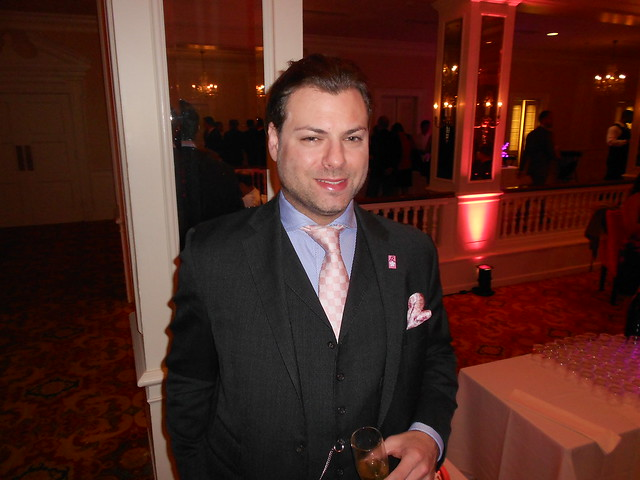 Jason Kampf at the Pink Tie Party 2012