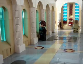 jedi Temple corridor