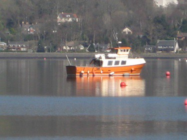 Cailin Oir in Gareloch 27th March © George Freeman