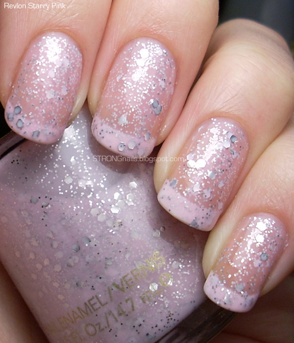 French Manicure With Revlon Starry Pink