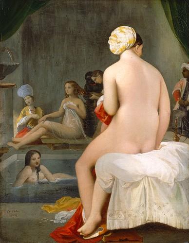 Ingres - La petite baigneuse - Intérieur de harem (1838) by petrus.agricola