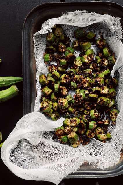 N3 DineandDish-Fried Okra Muslin Cloth