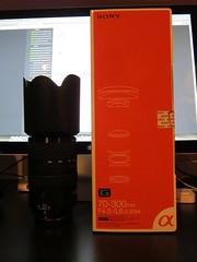My dream lens Sony 70-300 SSM G (tim-gep) Tags: lens g sony alpha ssm sony70300