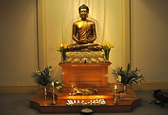 Glasgow Buddhist Centre shrine