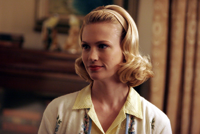 betty draper, mad men, 60's, blonde bob, 42