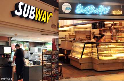 Subway vs Subway Niche