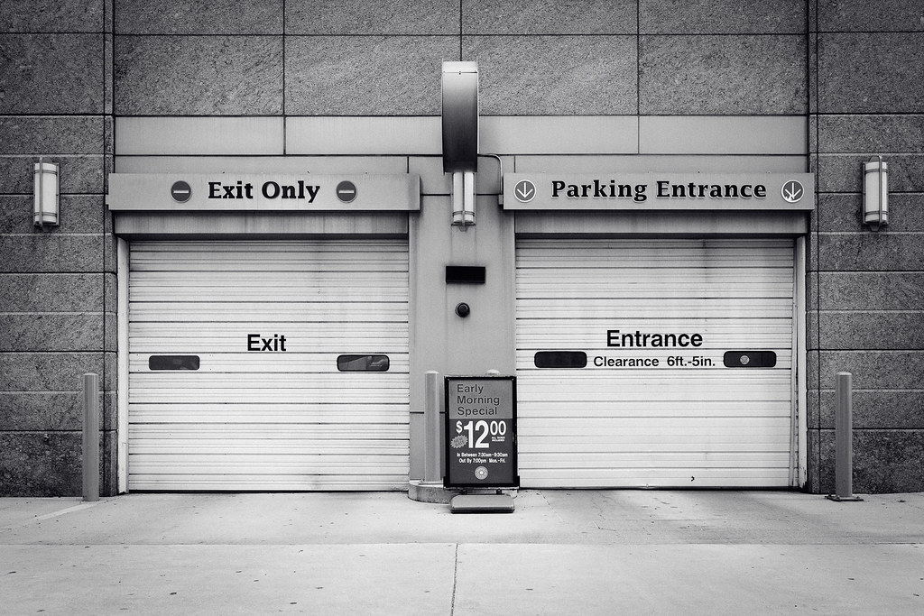 exit only photo