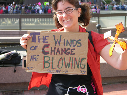 the winds of change are blowing