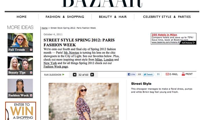 Harper's Bazaar Parigi copia