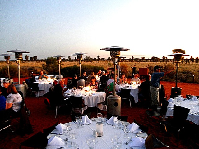 Sounds of Silence Dinner Uluru