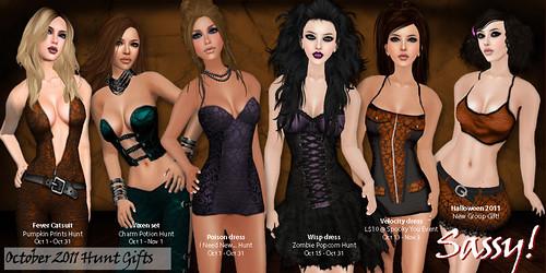 Halloween 2011 Hunt Prizes