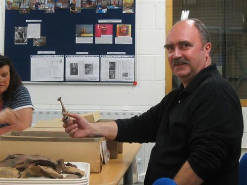 Getting beneath the skin - zoologist, Alan Pipe