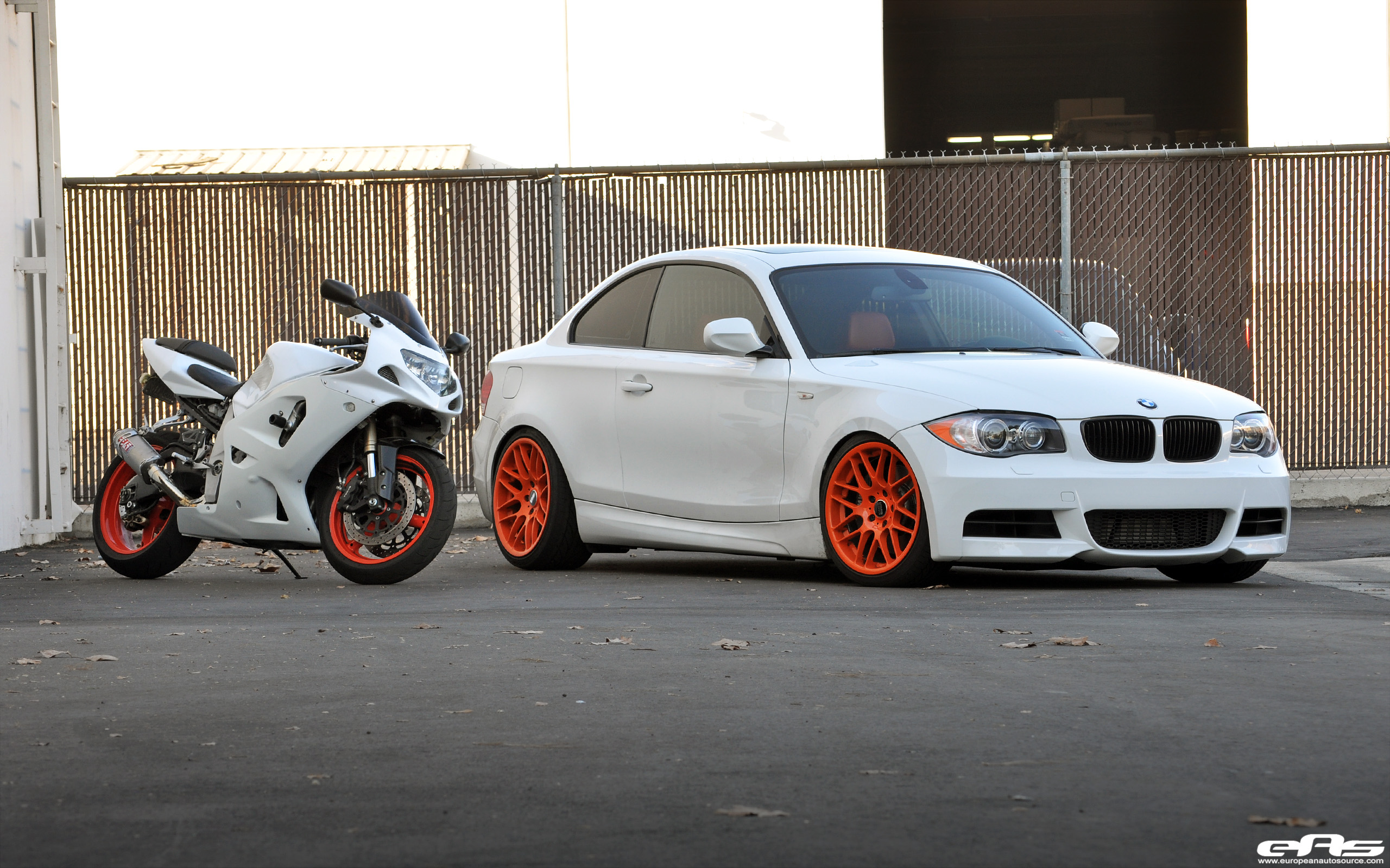 The wheels on this car are the 18 vmr vb3s in a custom orange powdercoat finish