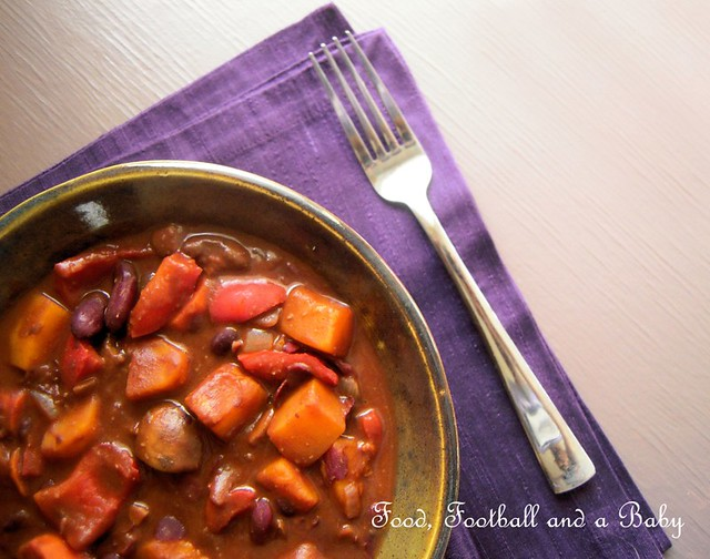 Chunky Vegetarian Chili with Dark Chocolate 2