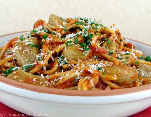 40 Cloves Garlic Spaghetti