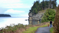 VIT Jack Point & Biggs Park look north trail start 10 comp (scottoftheforest) Tags: camping beach vancouver forest walking island living harbour hiking nanaimo oceanside rv touring rving
