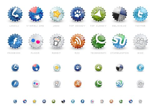 set-of-social-grunge-icons