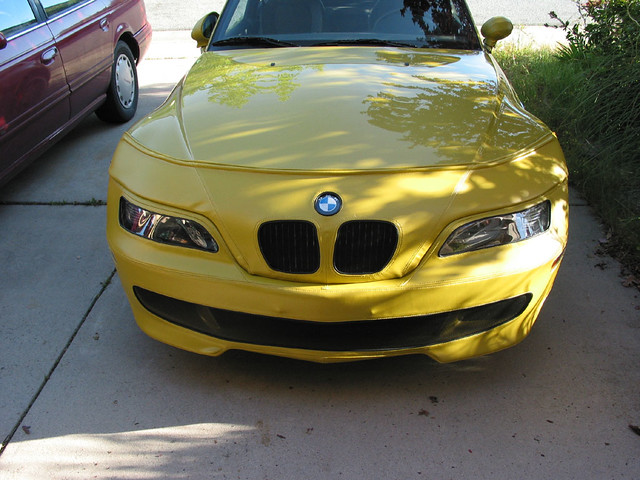 2001 BMW M Coupe | Phoenix Yellow | Gray/Black