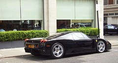 Enzo (BenGPhotos) Tags: black london car ferrari enzo 2008 supercar spotting v12 hypercar worldcars n1nvn
