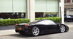 Enzo (BenGPhotos) Tags: black london car ferrari enzo 2008 supercar spotting v12 hypercar worldcars n1nvn