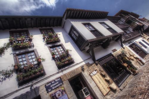 Street. Santillana del Mar, Cantabria. Calle