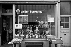 Moments of inertia (Gary Kinsman) Tags: reflection london history shop georgewbush 911 waterloo 51 bookshop shopfront se1 thecut inertia londonist 2011 canon28mmf18 canoneos5dmarkii canon5dmkii calderbookshop
