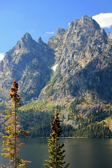 Grand Tetons (2) (Rich Flynn) Tags: autumn mountain mountains reflection fall nature landscape rockies utah nationalpark montana desert northwest nps fallcolors lakes scenic autumncolors craggy yellowstonenationalpark environment yellowstone rockymountains wyoming tetons nationalparkservice waterscape grandtetonnationalpark richardflynn richardaflynn