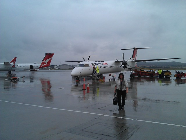Soggy Canberra