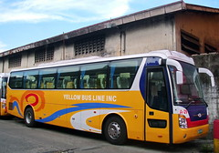 Mindanao's Chinese Universe (markstopover_004) Tags: new travel bus tourism buses lines yellow coach tour philippines transport line traveller replica transportation shuttle manila airconditioned service express 29 trans ac universe hyundai tours brand aircon luxury pinoy liner jac anhui a ybl hk6124am hk6124am1 hk6124