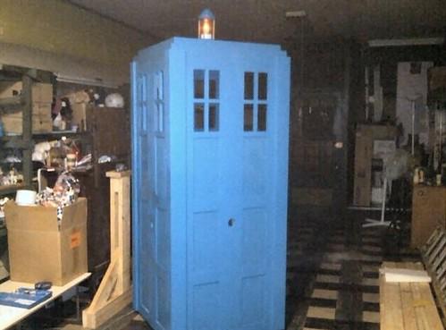 TARDIS Bondage Box