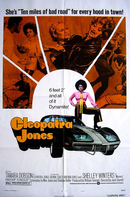Cleopatra Jones, 1973, movie poster