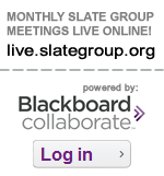 Participate in Monthly SLATE Group Meetings live online!
