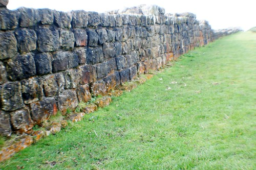 Hadrian's Wall near Black Carts Milecastle