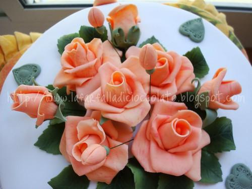 Torta Rose Cameo