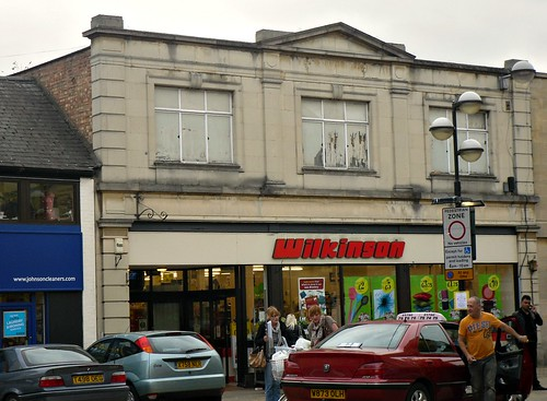 Art Deco style building in Stamford