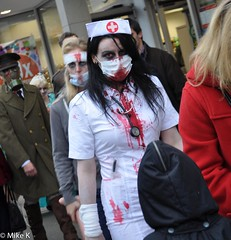 Zombie_Walk_278 (Pardon The Lens) Tags: toronto ontario canada halloween dead scary blood nikon zombie makeup brains gore undead downtowntoronto zombiewalk torontozombiewalk tzw nikond90 102211 zombiewalktoronto braindrive torontozombiewalk2011 oct2211 tzw11 tzw2011
