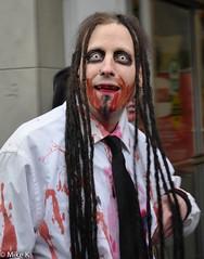 Zombie_Walk_108 (Pardon The Lens) Tags: toronto ontario canada halloween dead scary blood nikon zombie makeup brains gore undead downtowntoronto zombiewalk torontozombiewalk tzw nikond90 102211 zombiewalktoronto braindrive torontozombiewalk2011 oct2211 tzw11 tzw2011