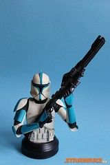 Gentle Giant - Star Wars Clone Trooper Lieutenant (Azul) mini bust busto