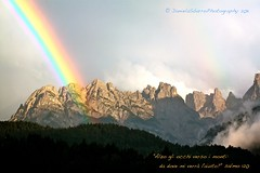 Alzo gli Occhi (daniela sbarro) Tags: light italy mountain canon eos rainbow colours 60mm dolomites d500 landascape cadore 500d estremit rebelt1i dansbarro danielasbarro httpwwwfluidrcomphotosdanielasbarro danielasbarrophotography