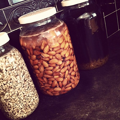 Soaking sunflower seeds and almonds and making a gallon of water kefir. What traditional foods are you making today?