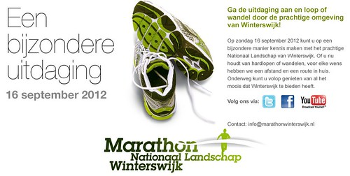 Marathon Winterswijk -16 september 2012-