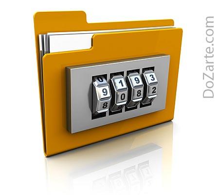 Proteggere una cartella con una password