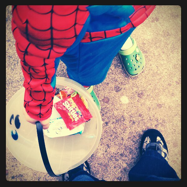 #fromwhereistand with spiderman