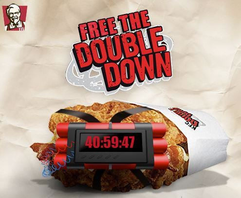 KFC Free the Double Down