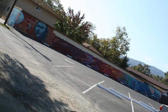 Mural broadway/wayland Gilroy