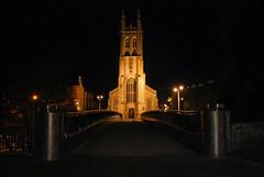 St Marys (jim-green777) Tags: night dark nikon cathedral derbyshire carpark citycenter derby stmarys timedexposures longexposures d80 derbyeye
