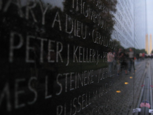 Vietnam War Memorial (the wall)