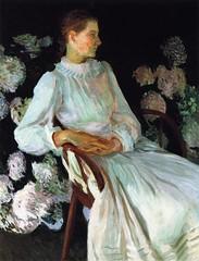 Katharine Pratt in1890 - artist John Singer Sargent