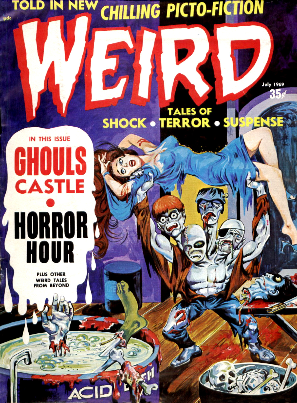 Weird Vol. 03 #3 (Eerie Publications, 1969)
