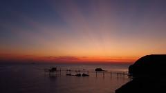 Rose rays at dawn (Luca Zappacosta) Tags: sea costa dawn coast mare alba rays sunrays adriatic abruzzo raggi adriaticsea adriatico vasto trabocco costadeitrabocchi mareadriatico puntaaderci lucazappacosta zappacostaluca riservanaturaleguidatadipuntaaderci